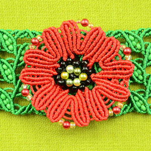 Make a Macrame Poppy