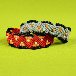 Beaded ZigZag Bracelet Tutorial
