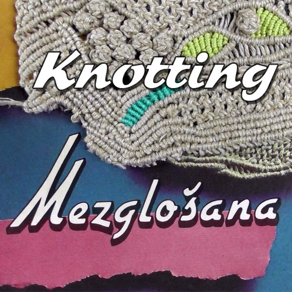 KNOTTING BOOK with MACRAME PATTERNS