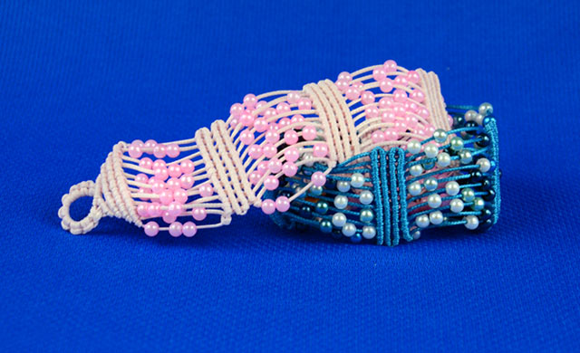 Beaded Macrame Bracelet Tutorial