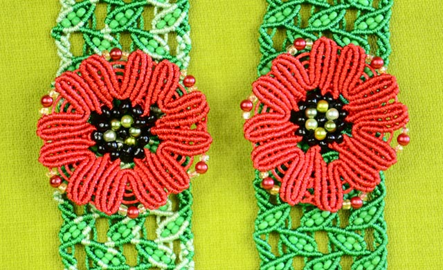 Make a Macramé Poppy