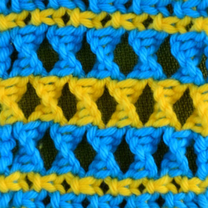 Macrame ABC/Pattern sample #11