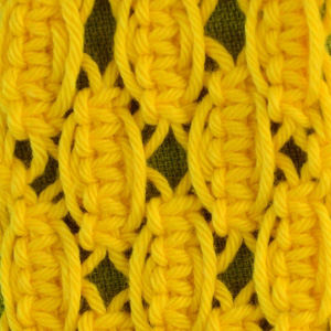 Macrame ABC/Pattern sample #12