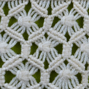 Macrame ABC/Pattern sample #14