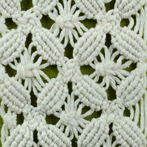 Macrame ABC/Pattern sample #15