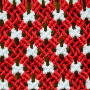 Macrame ABC/Pattern sample #23