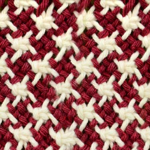 Macrame ABC/Pattern sample #26